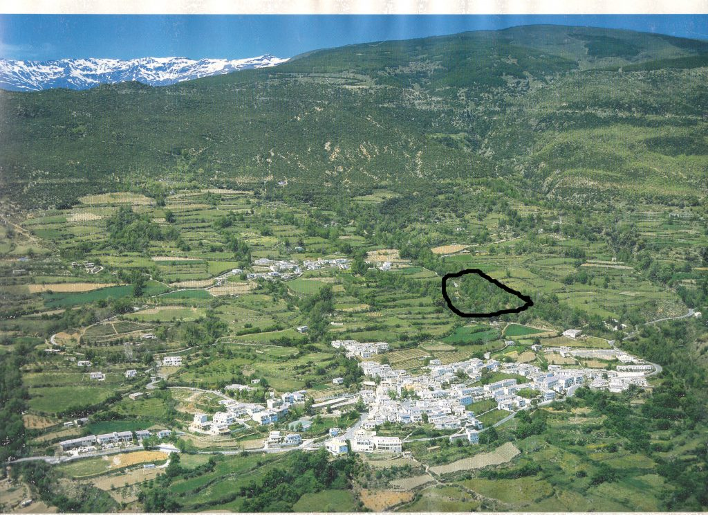 Situation of Cortilo marked